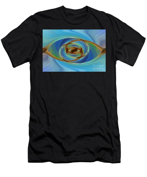 Abstract Tennis Men's T-Shirt (Athletic Fit)