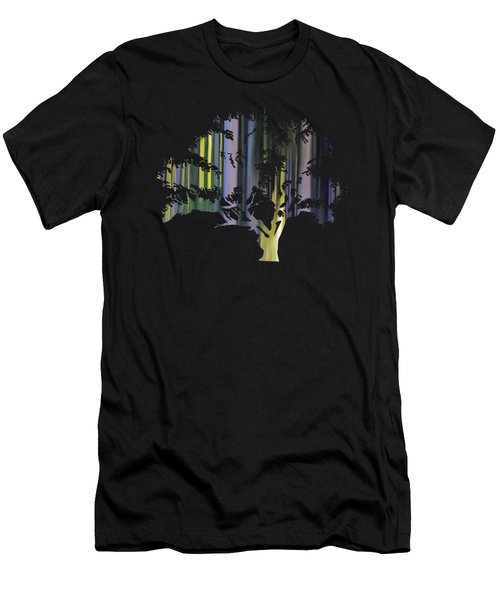 Abstract Tree Men's T-Shirt (Athletic Fit)