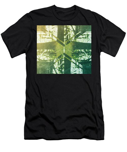 Abstract Trees Men's T-Shirt (Athletic Fit)