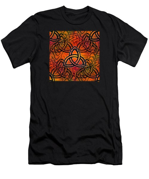Abstract - Trinity Men's T-Shirt (Slim Fit) by Glenn McCarthy Art and Photography