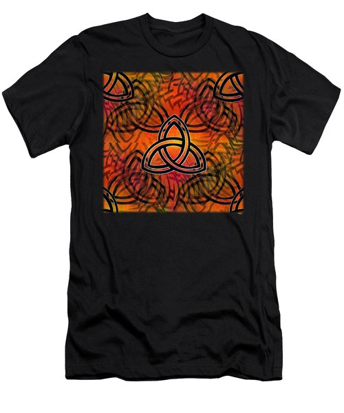 Abstract - Trinity Men's T-Shirt (Athletic Fit)