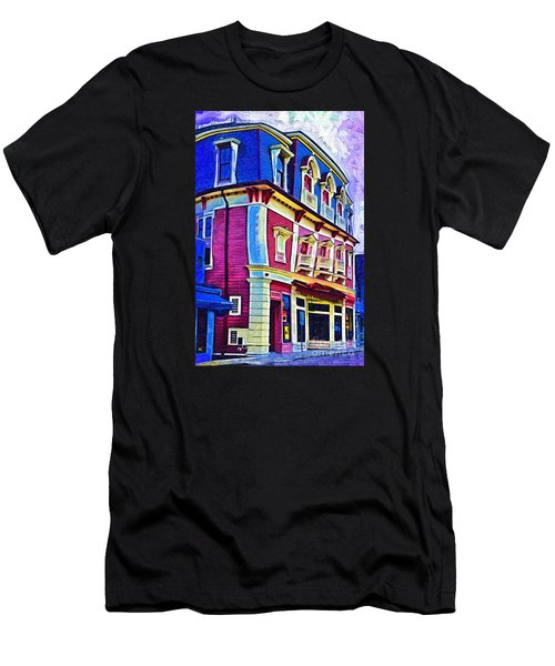 Abstract Urban Men's T-Shirt (Athletic Fit)