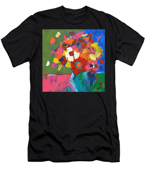 Abstract Vase Men's T-Shirt (Athletic Fit)