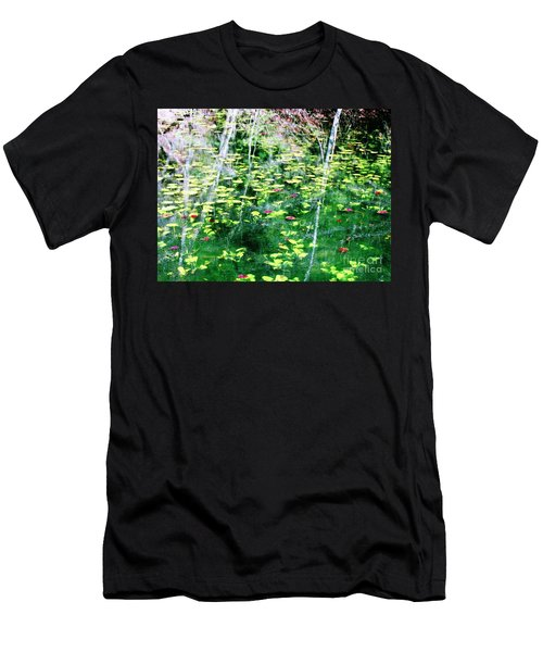 Abstract Water Men's T-Shirt (Athletic Fit)