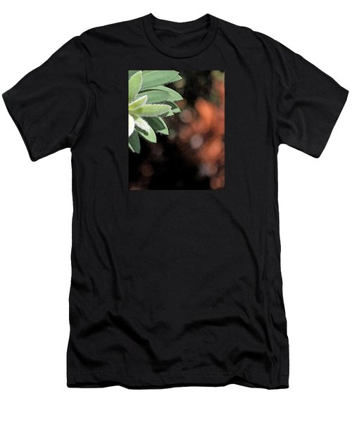 Men's T-Shirt (Slim Fit) featuring the photograph Abstract Watercolor by Judy Vincent