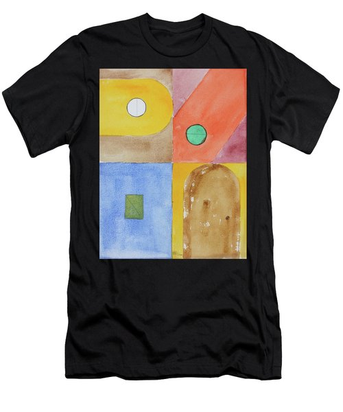 Abstract Watercolour Men's T-Shirt (Athletic Fit)