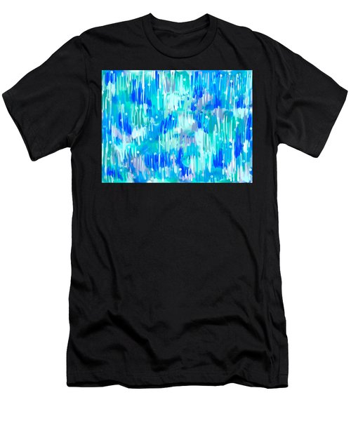 Abstract Winter Men's T-Shirt (Athletic Fit)