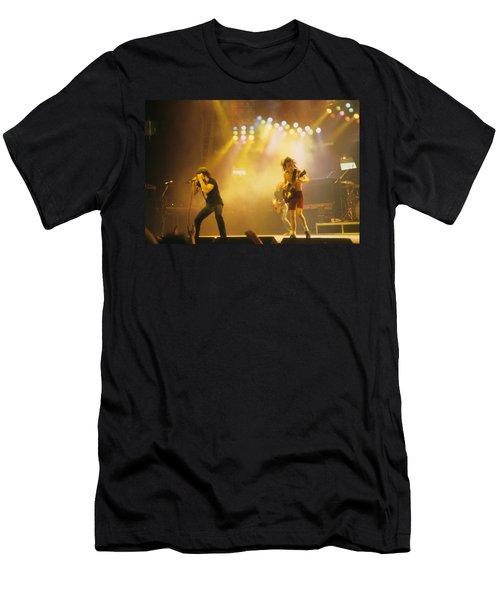 Ac Dc Men's T-Shirt (Athletic Fit)