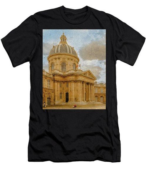 Paris, France - Academie Francaise Men's T-Shirt (Athletic Fit)
