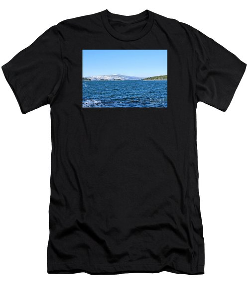 Acadia  Men's T-Shirt (Slim Fit) by Debbie Stahre