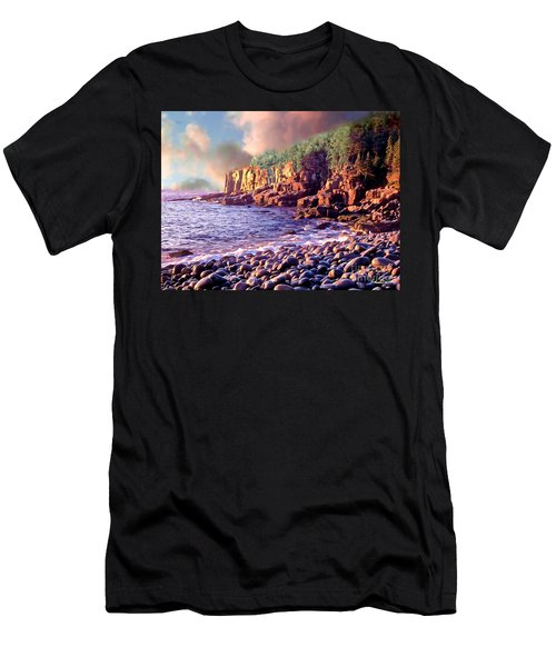 Acadia National Park Men's T-Shirt (Athletic Fit)