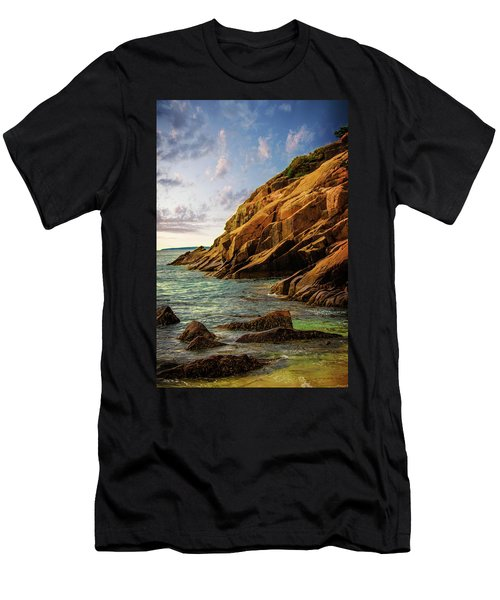 Acadia National Park--maine Men's T-Shirt (Slim Fit) by Sherman Perry