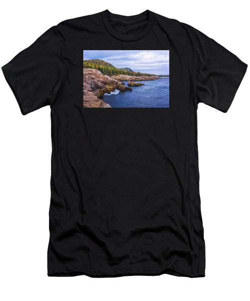 Acadia's Coast Men's T-Shirt (Athletic Fit)