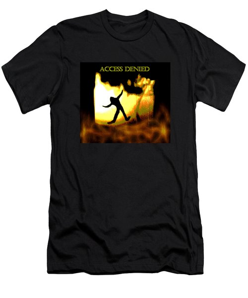 Access Denied Apparel Men's T-Shirt (Slim Fit) by Aliceann Carlton