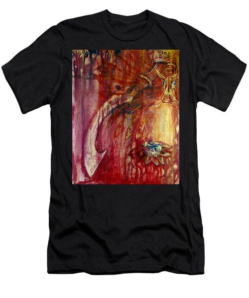 Ace Of Swords Men's T-Shirt (Athletic Fit)