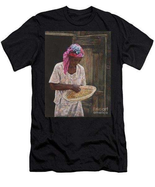 Acklins Corn Men's T-Shirt (Athletic Fit)