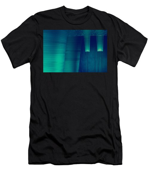 Acoustic Wall Men's T-Shirt (Athletic Fit)