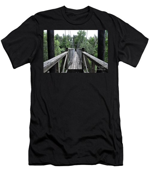 Men's T-Shirt (Slim Fit) featuring the photograph Across The Great Divide by John Black