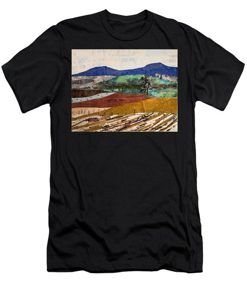 Across The Meadow Men's T-Shirt (Athletic Fit)