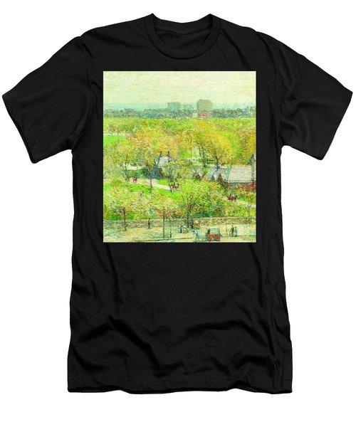 Across The Park Men's T-Shirt (Athletic Fit)