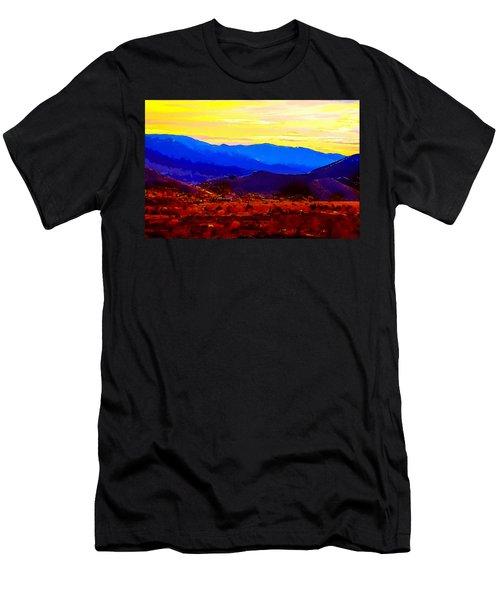 Acton California Sunset Men's T-Shirt (Athletic Fit)
