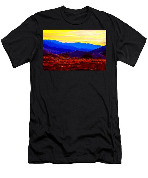 Acton California Sunset Men's T-Shirt (Athletic Fit)