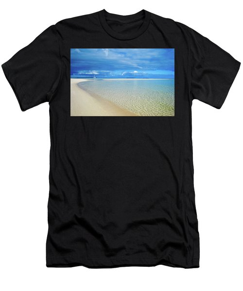 Adagio Alone In Ouvea, South Pacific Men's T-Shirt (Athletic Fit)