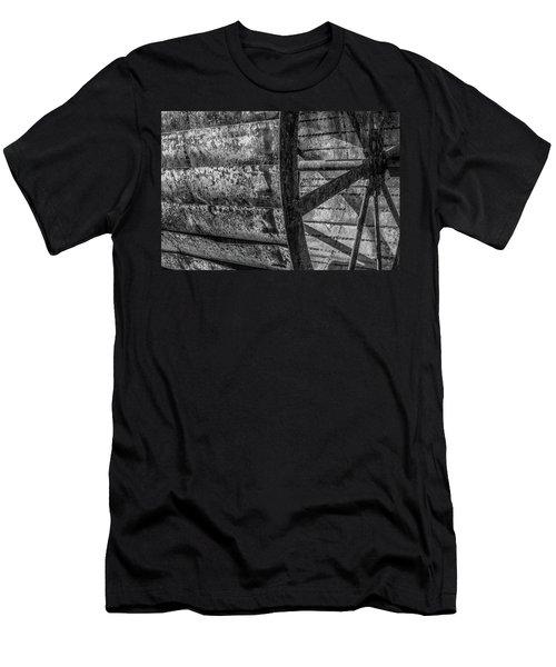 Adam's Mill Water Wheel Men's T-Shirt (Athletic Fit)