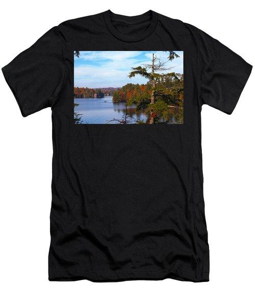 Adirondack View Men's T-Shirt (Athletic Fit)