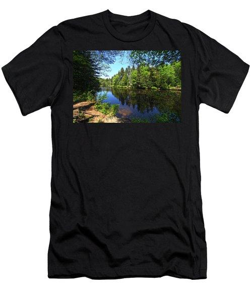 Adirondack Waters Men's T-Shirt (Athletic Fit)