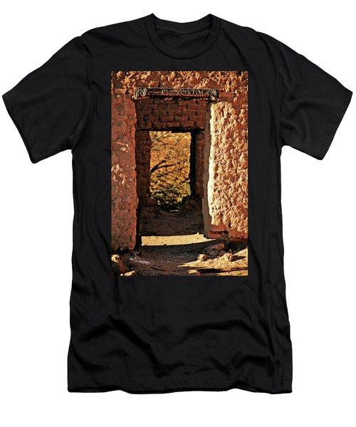Adobe Ruin Men's T-Shirt (Athletic Fit)