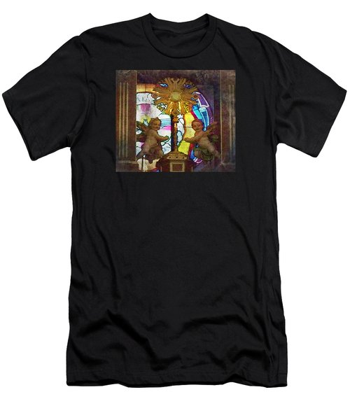 Adoration Chapel 4 Men's T-Shirt (Athletic Fit)