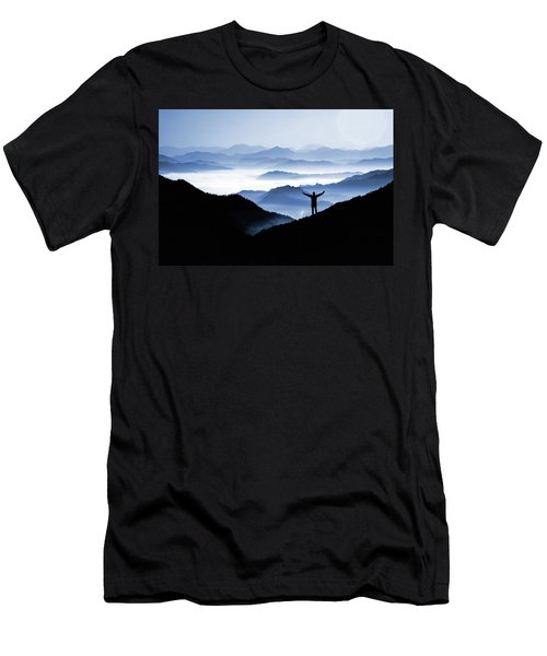 Adoration Of Natural Beauty Men's T-Shirt (Athletic Fit)