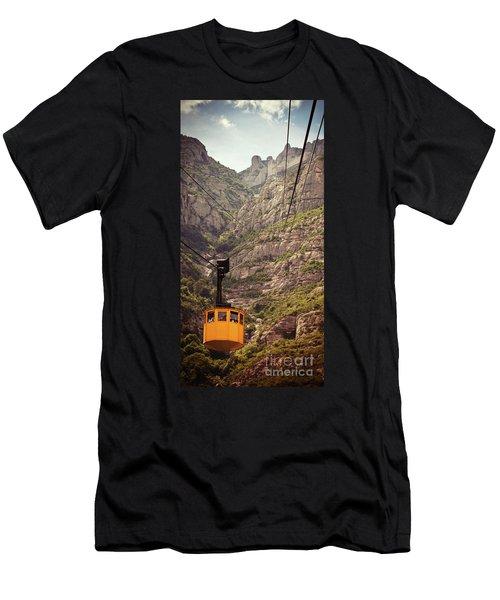 Aeri De Montserrat Men's T-Shirt (Athletic Fit)