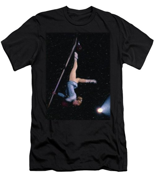 Aerial Acrobat Men's T-Shirt (Athletic Fit)