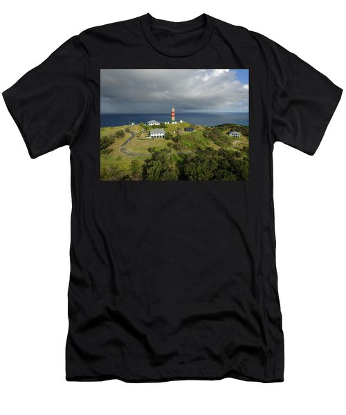 Aerial View Of Cape Moreton Lighthouse Precinct Men's T-Shirt (Athletic Fit)