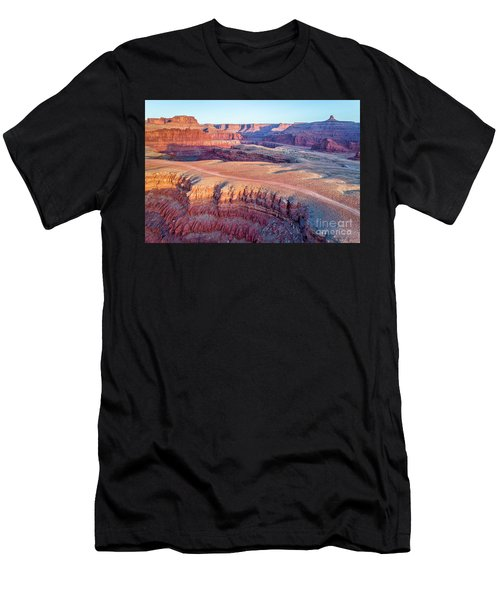 aerial view of Colorado RIver canyon Men's T-Shirt (Athletic Fit)