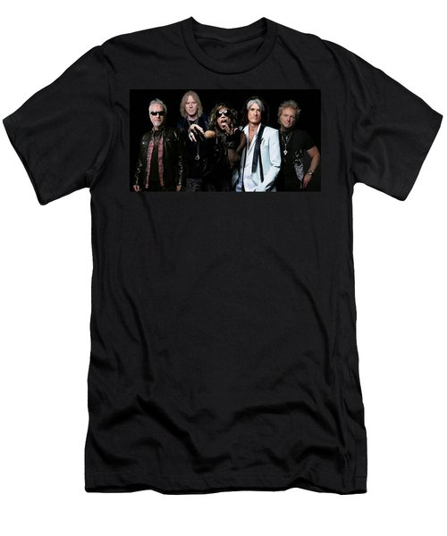 Aerosmith Men's T-Shirt (Athletic Fit)