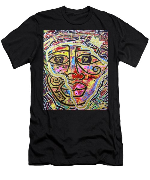 Africa Center Of The World Men's T-Shirt (Athletic Fit)