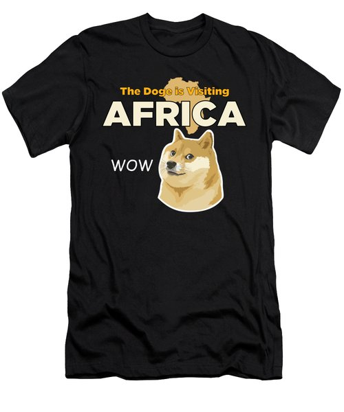 Africa Doge Men's T-Shirt (Slim Fit) by Michael Jordan