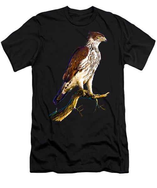 African Hawk Eagle Men's T-Shirt (Athletic Fit)