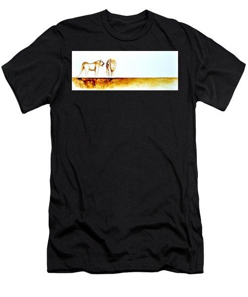African Marriage - Original Artwork Men's T-Shirt (Athletic Fit)