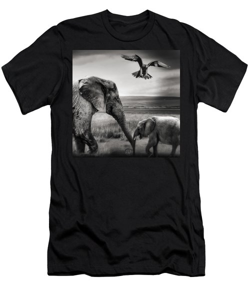 African Playground Men's T-Shirt (Athletic Fit)
