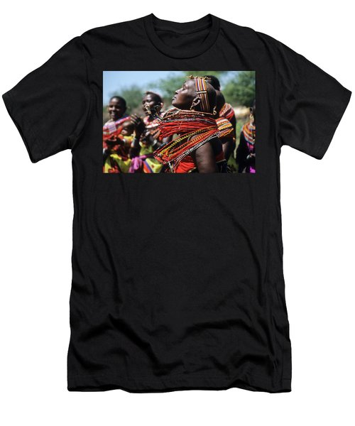 African Rhythm Men's T-Shirt (Athletic Fit)