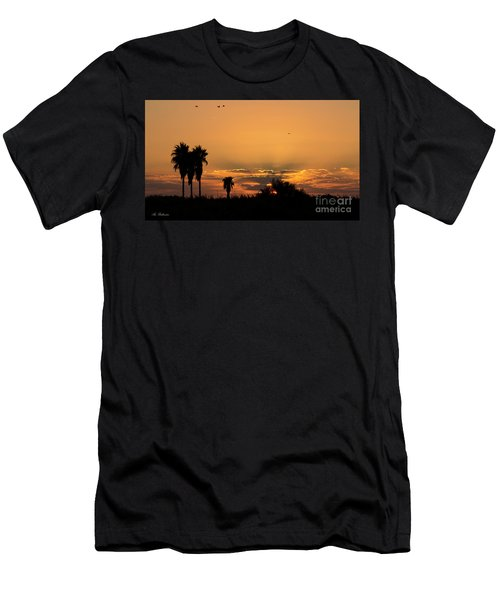 African Style Sunset 02 Men's T-Shirt (Athletic Fit)