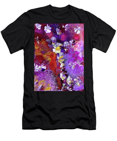 African Violet Awake #5 Men's T-Shirt (Athletic Fit)