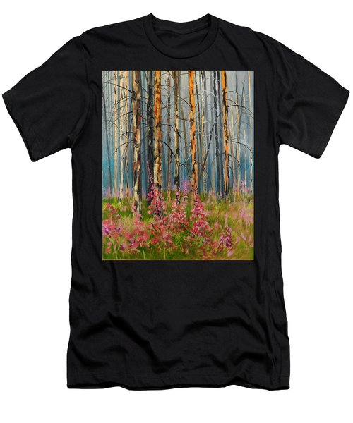 After Forest Fire Men's T-Shirt (Athletic Fit)