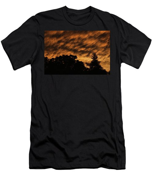 After Storm Sunset Men's T-Shirt (Athletic Fit)
