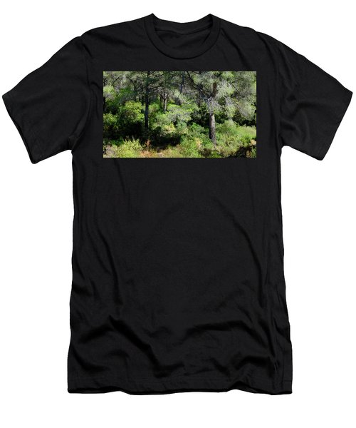 Men's T-Shirt (Athletic Fit) featuring the photograph After Summer by August Timmermans