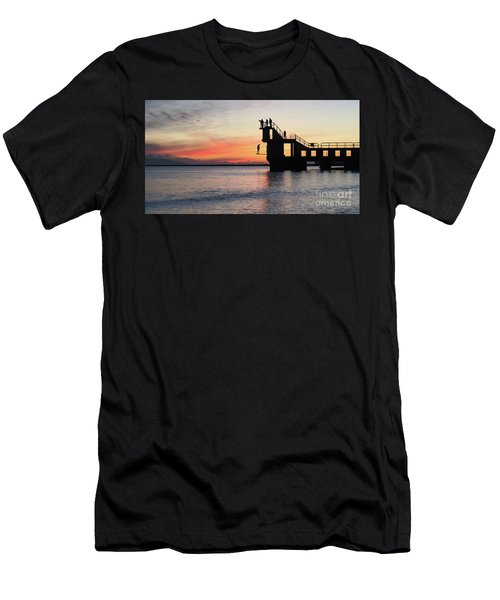 After Sunse Blackrock 3 Men's T-Shirt (Athletic Fit)